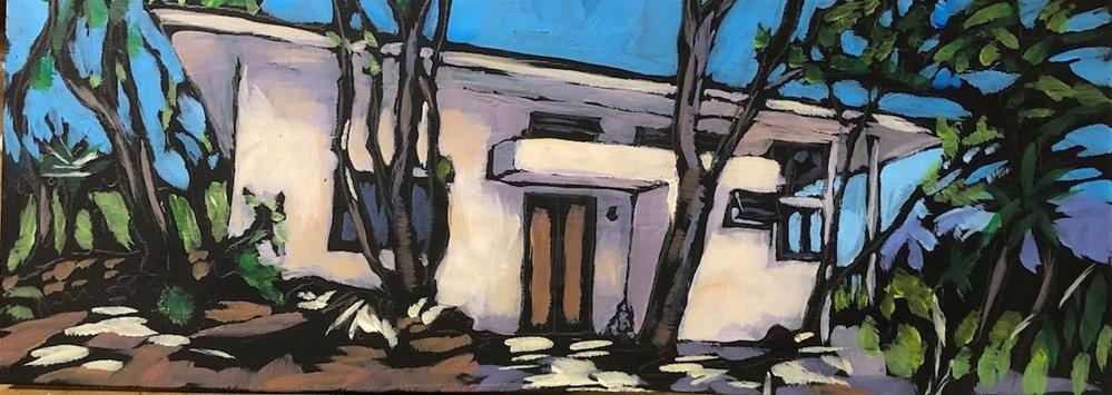"""""""my other sister's house"""" original fine art by Kat Corrigan"""
