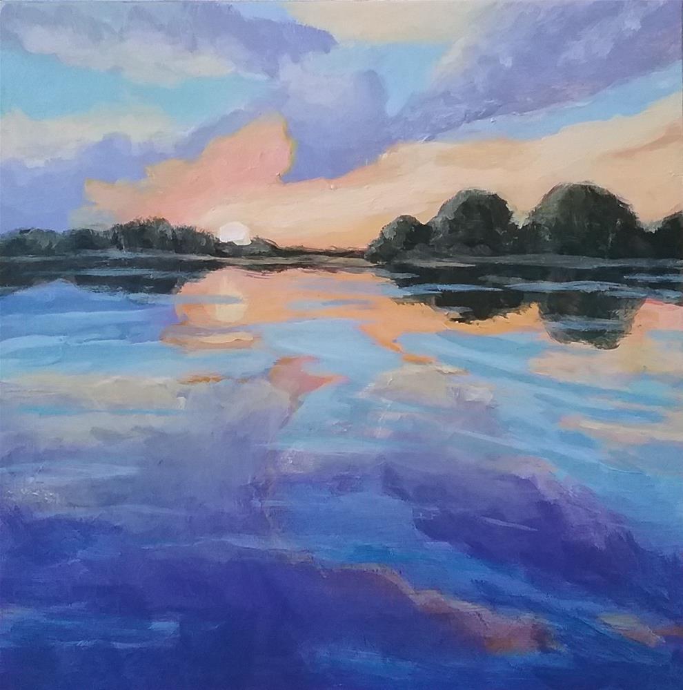 """Evening Jewel"" original fine art by Staar Caswell"