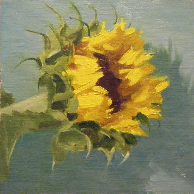 """SUNNYSIDE"" original fine art by Helen Cooper"