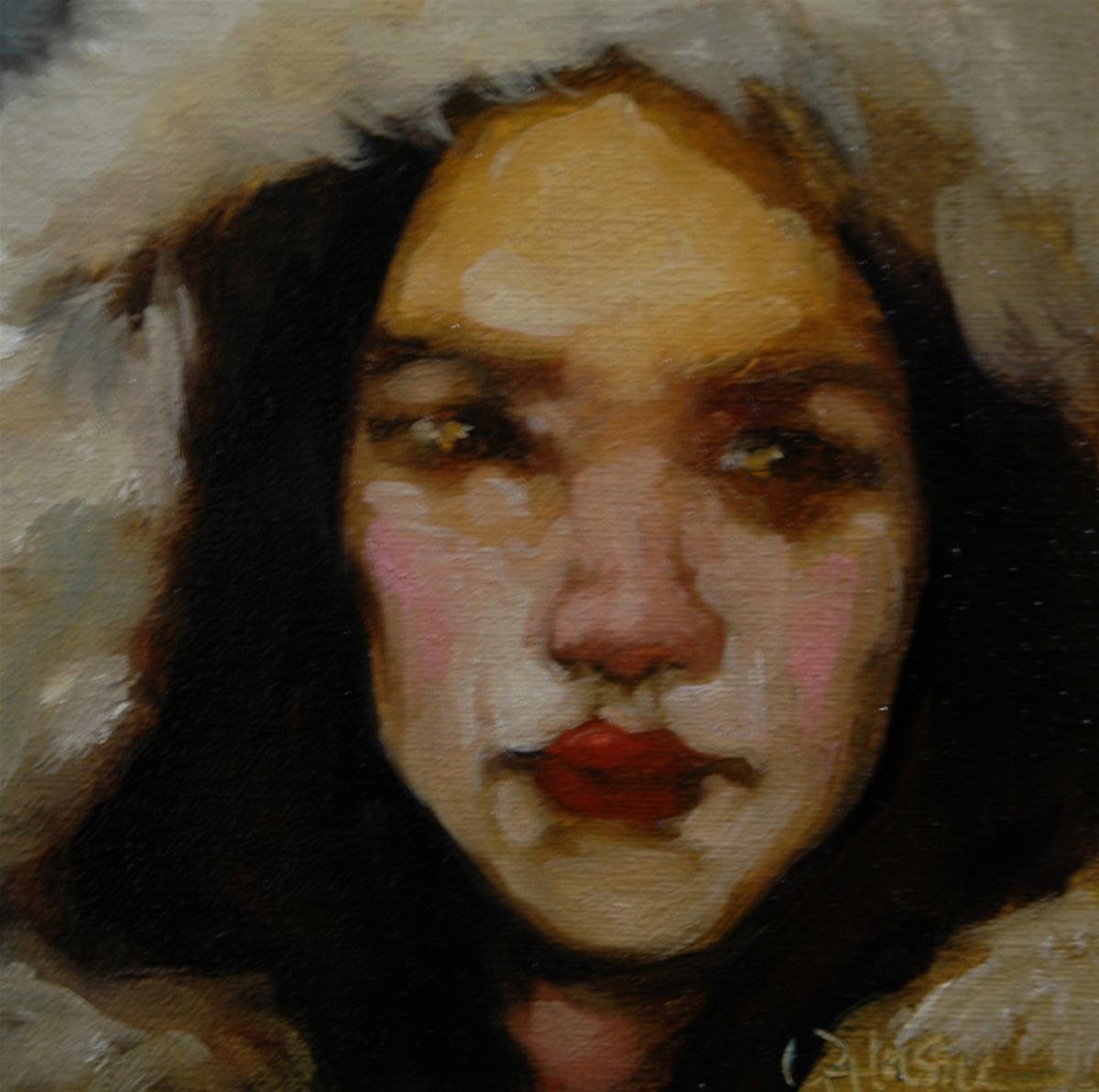 """Mystic Prediction"" original fine art by Kayleen Horsma"