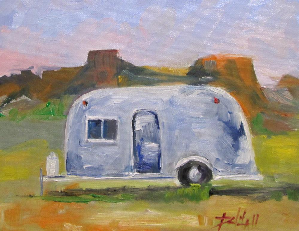 """Air Stream"" original fine art by Delilah Smith"