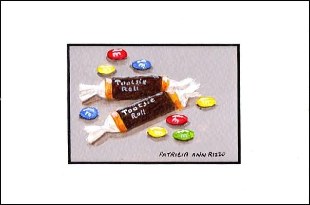 """A Little Bit of Candy"" original fine art by Patricia Ann Rizzo"