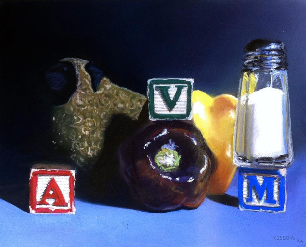 """Animal, Vegetable, Mineral"" original fine art by Cristine Kossow"