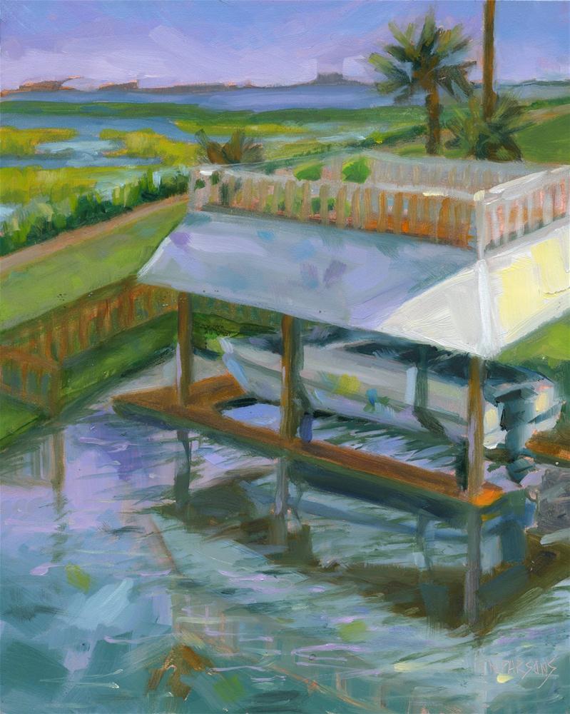 """Down By The Bay"" original fine art by Nancy Parsons"