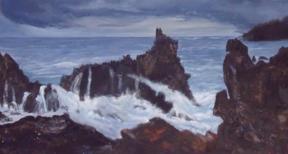 """Before the Storm"" original fine art by Nelvia McGrath"