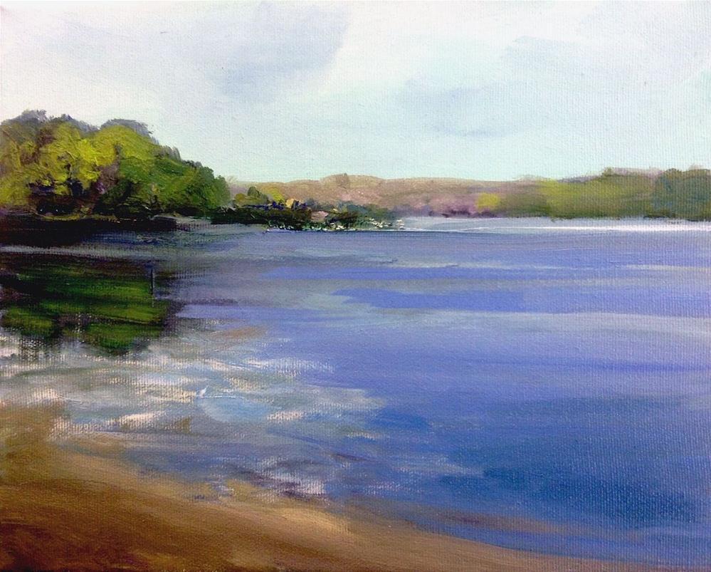 """The Point in Summer"" original fine art by Cathy Boyd"