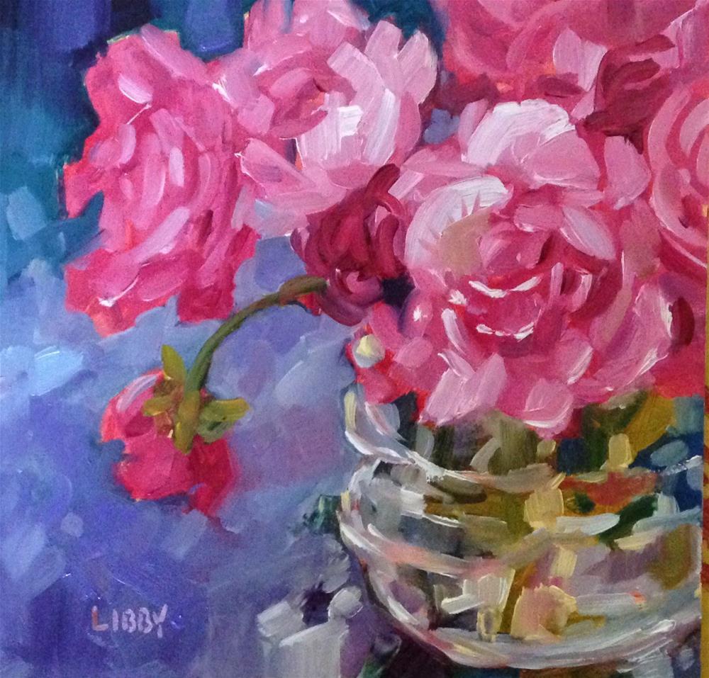 """Local Color"" original fine art by Libby Anderson"