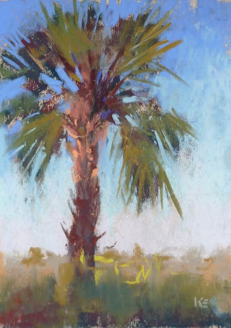 """Overcoming One of the Biggest Challenges of Plein Air"" original fine art by Karen Margulis"