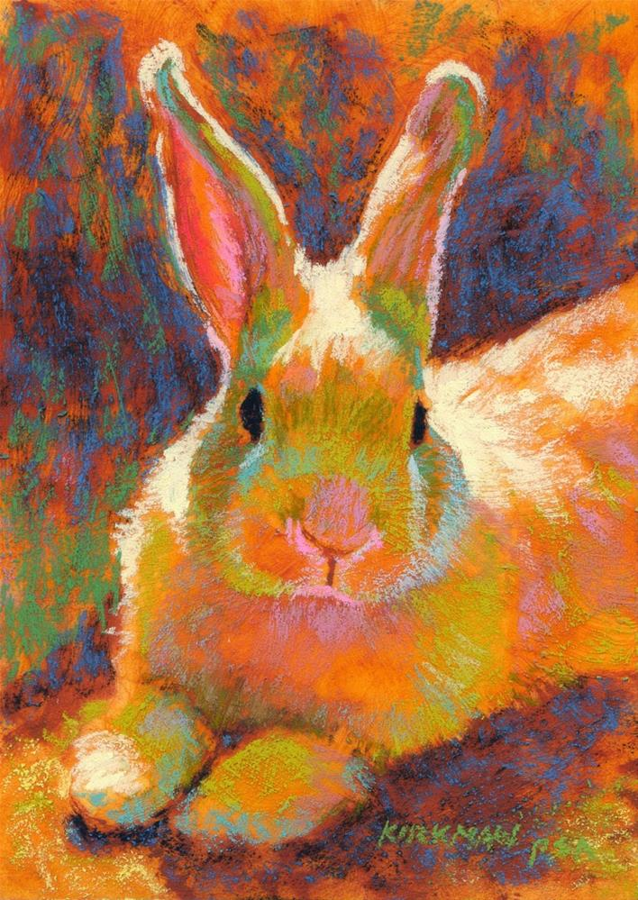"""Sunny Bun"" original fine art by Rita Kirkman"