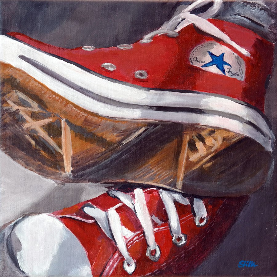 """1302 Chucks"" original fine art by Dietmar Stiller"
