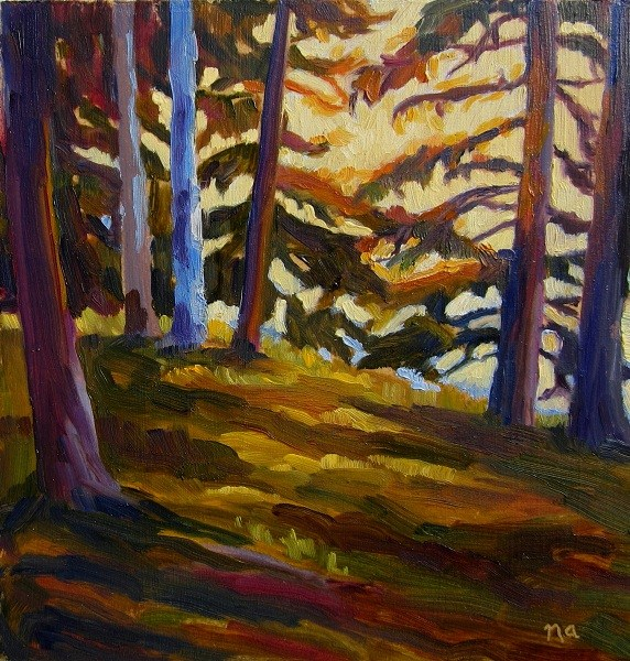 """Last Rays"" original fine art by Nicki Ault"