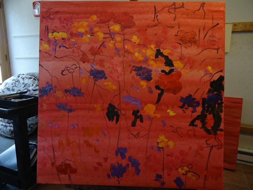 """ILLUMINATA II"" original fine art by Dee Sanchez"