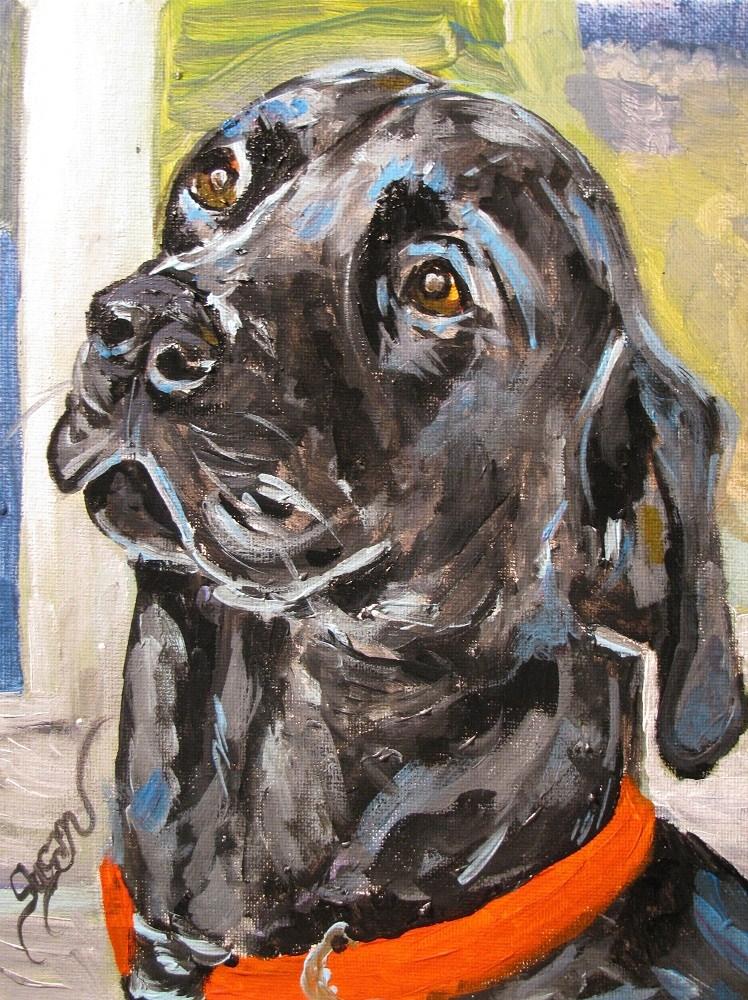 """""""Knox"""" original fine art by Susan Elizabeth Jones"""