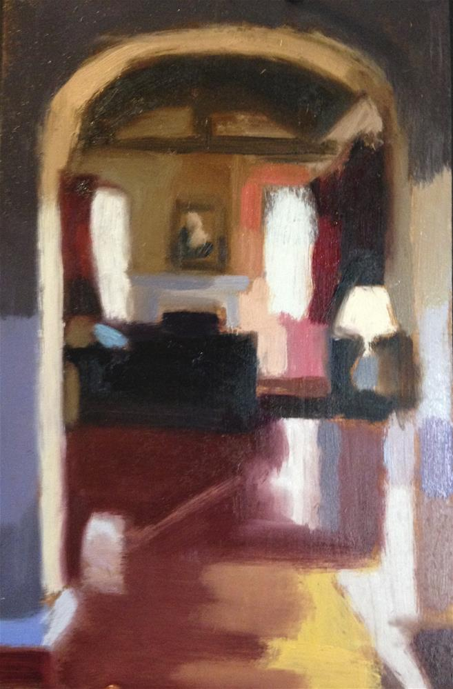 """looking Through the Arch"" original fine art by Pamela Hoffmeister"