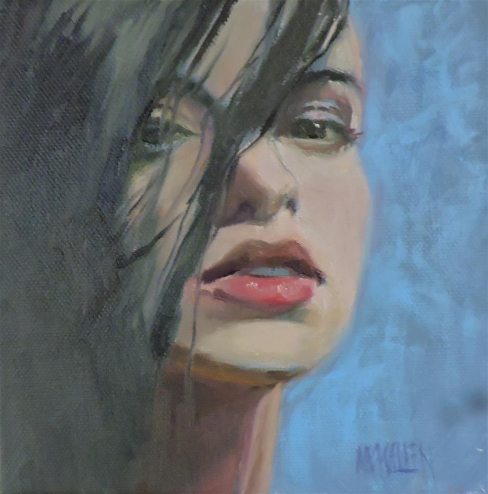 """""""Veiled"""" original fine art by Cheryl Magellen"""