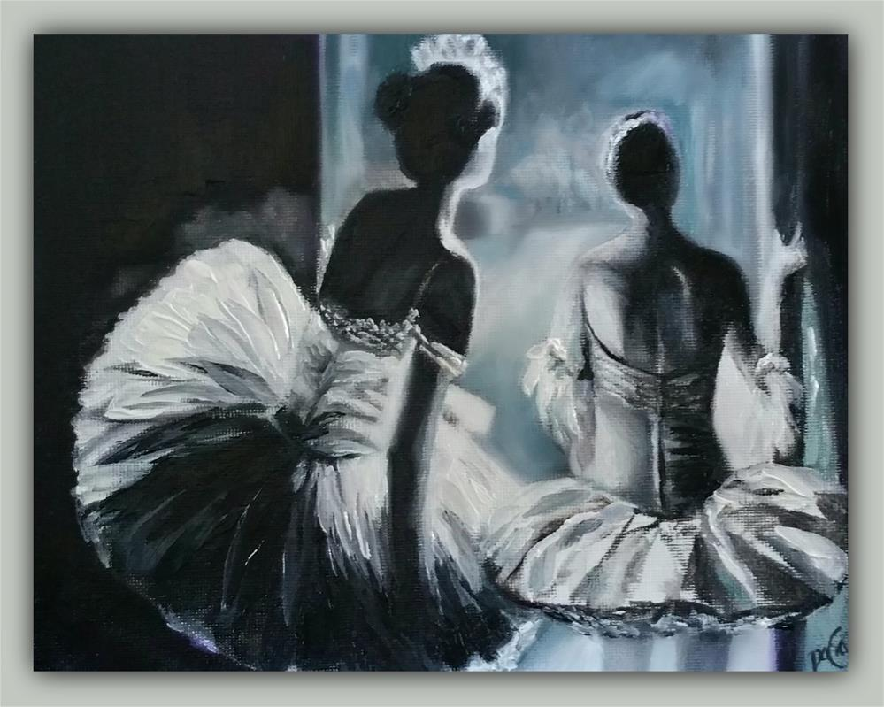 """Waiting"" original fine art by Dana C"