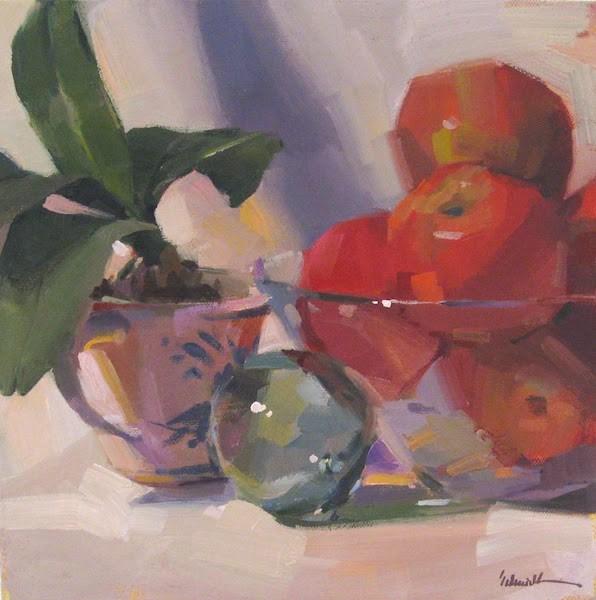 """""""A Coast Memory"""" original fine art by Sarah Sedwick"""