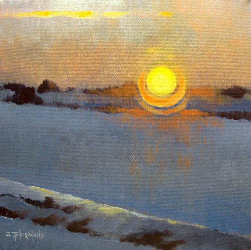 """Solstice"" original fine art by Zack Thurmond"