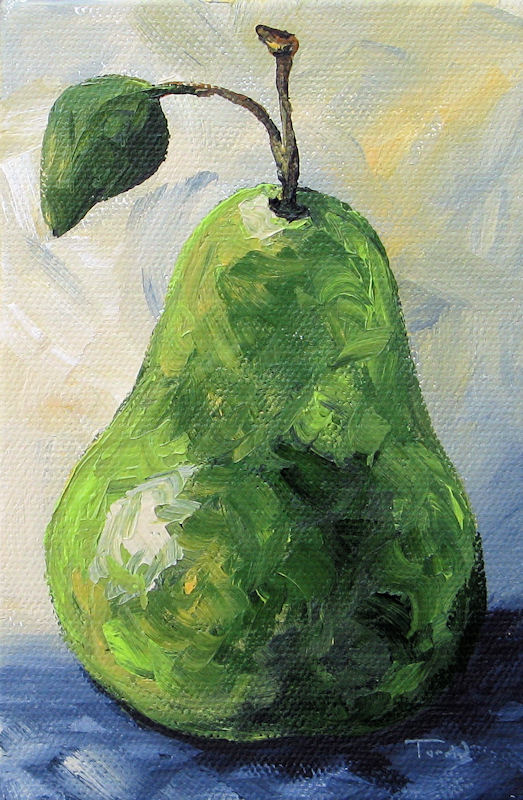 """The Pear Chronicles 012"" original fine art by Torrie Smiley"