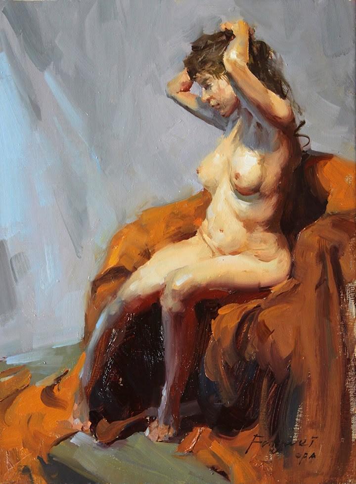 """Figure 2015 - 003"" original fine art by Fongwei Liu"