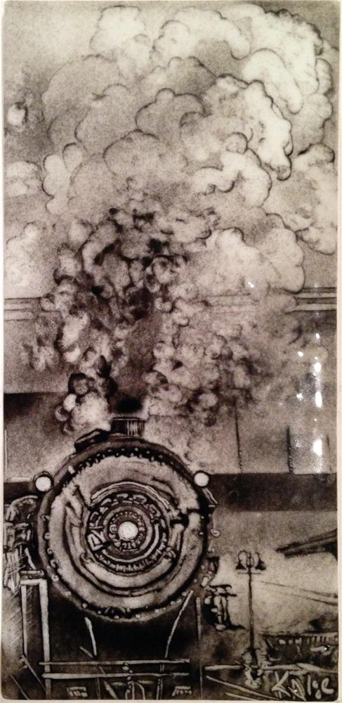 """Steam"" original fine art by Kelly Alge"