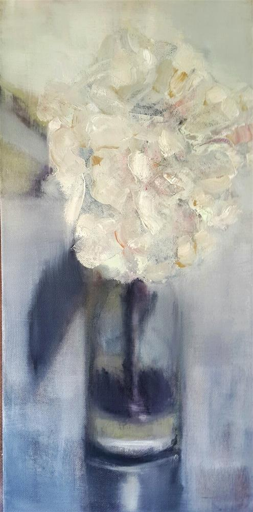 """Loving neutrals"" original fine art by Rentia Coetzee"