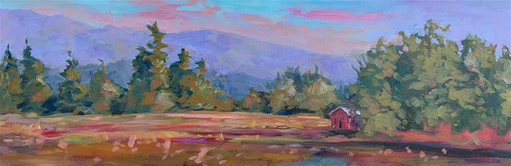 """Evening Light"" original fine art by Melissa Gannon"