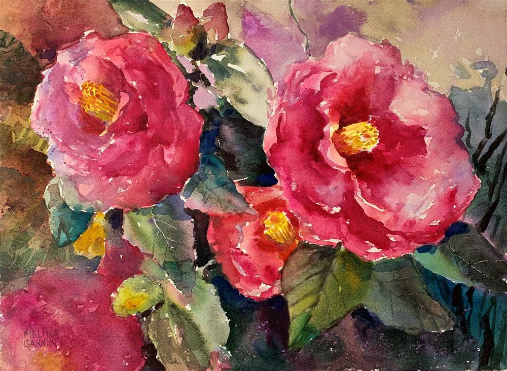 """Spring Camellisa"" original fine art by Melissa Gannon"