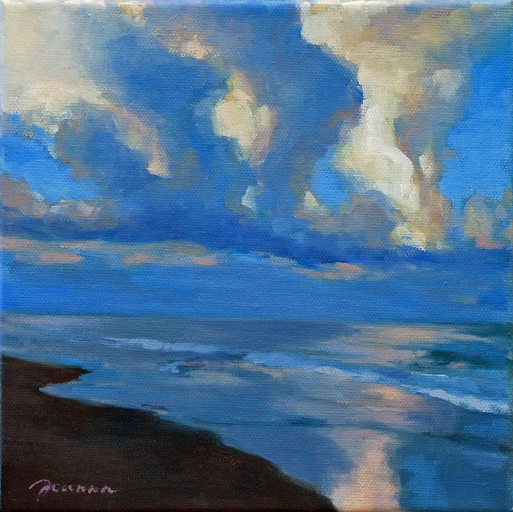 """""""Stormy Wings--The Stormy Weather Challenge"""" original fine art by Joanna Bingham"""