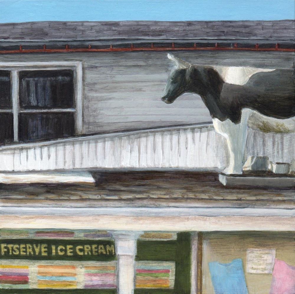 """White Farms"" original fine art by Debbie Shirley"