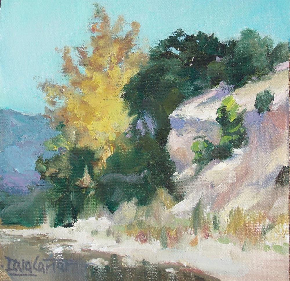 """LOW COUNTRY CLIFF"" original fine art by Doug Carter"