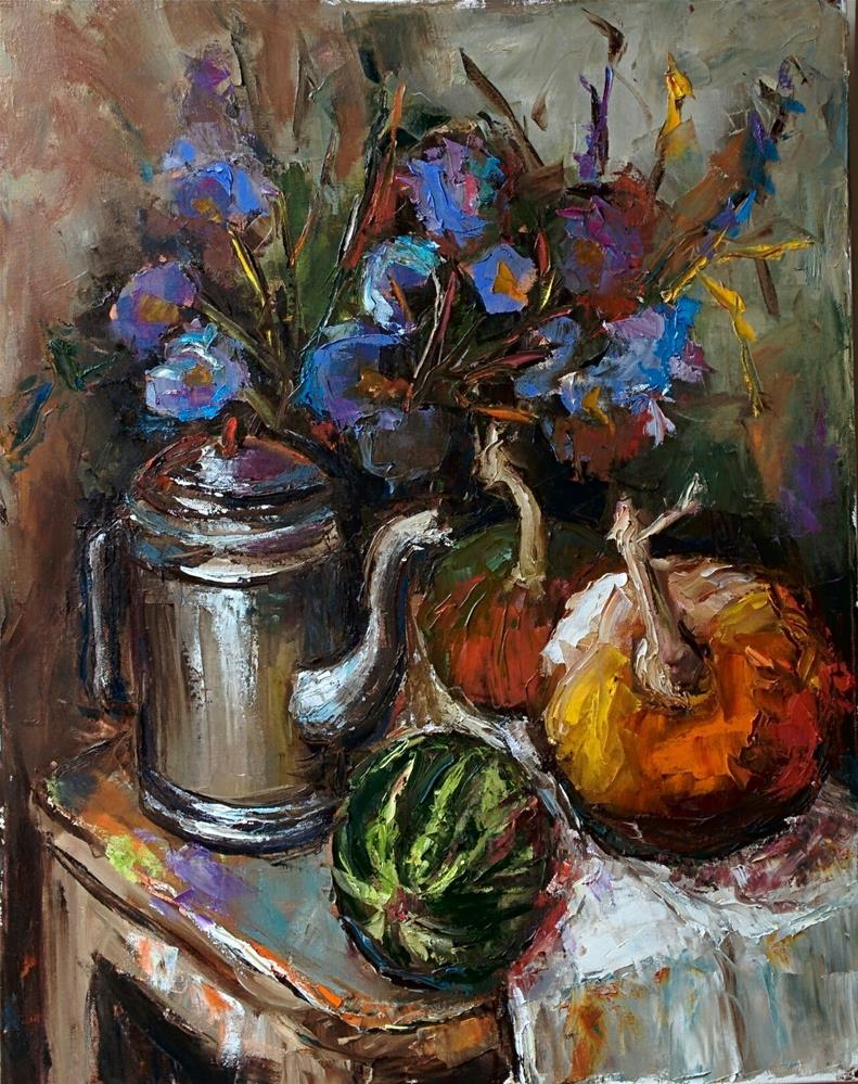 """""""Still Life with Simple Things"""" original fine art by pepa sand"""