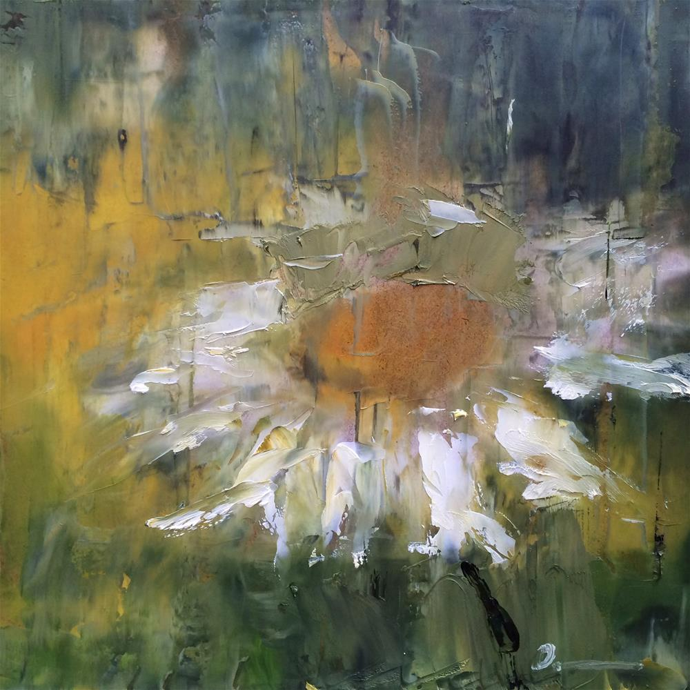 """Rainy time"" original fine art by Anny Kong"