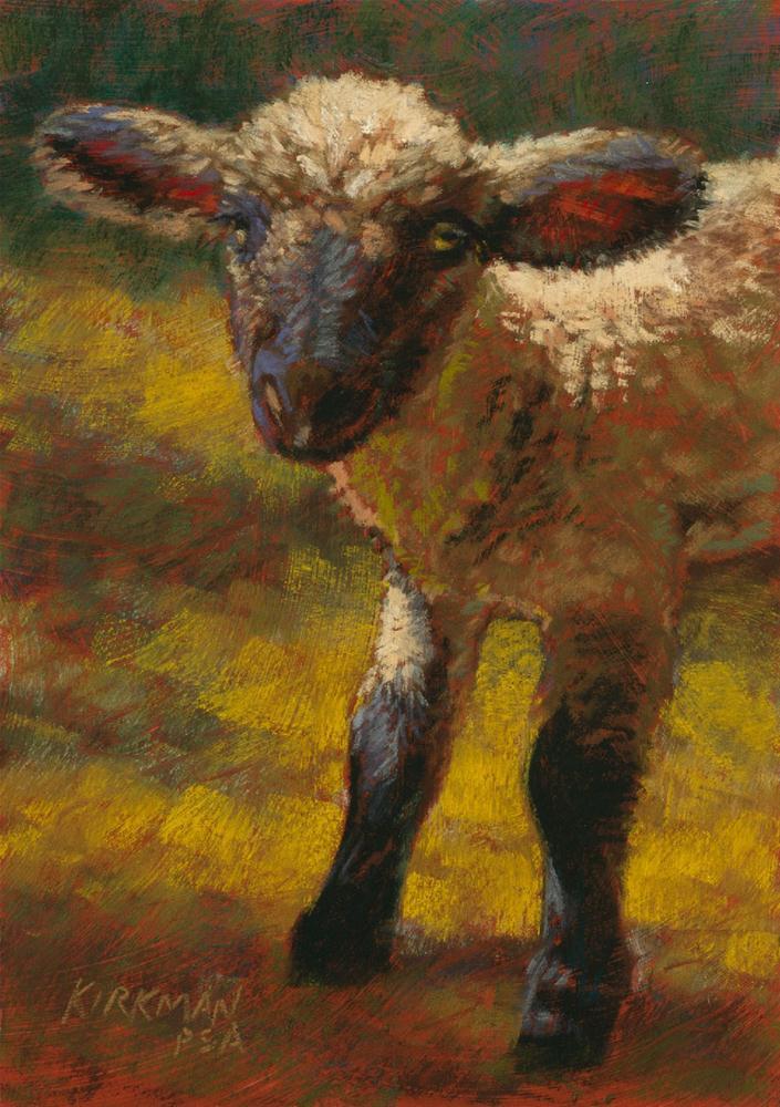 """Ewegenie"" original fine art by Rita Kirkman"