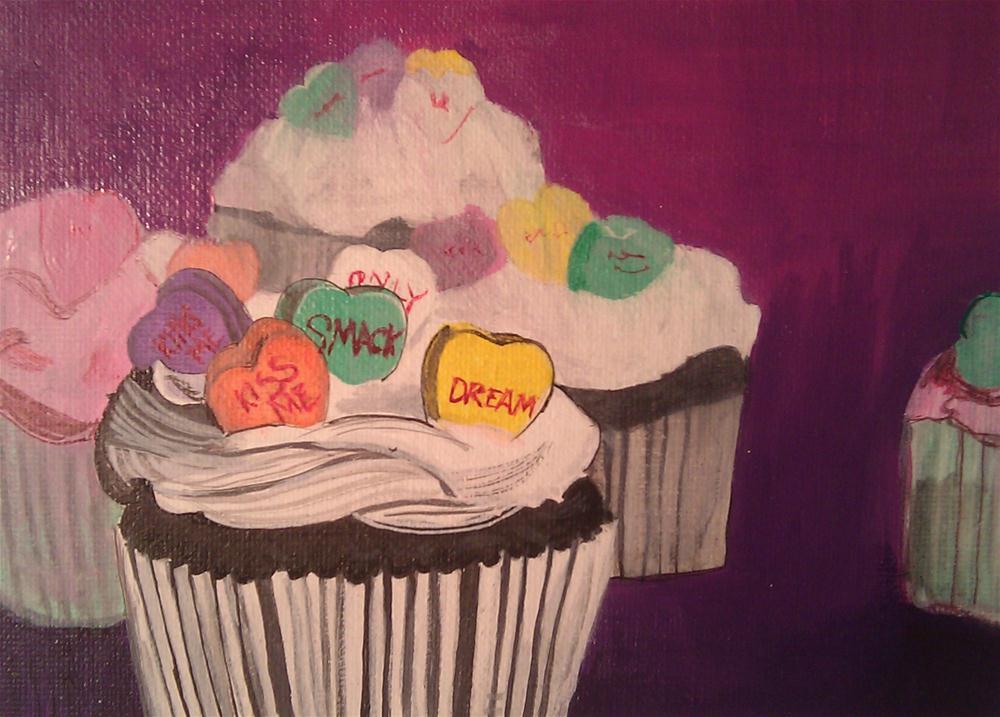 """four Days Till Valentines day"" original fine art by Kathleen Carrier"