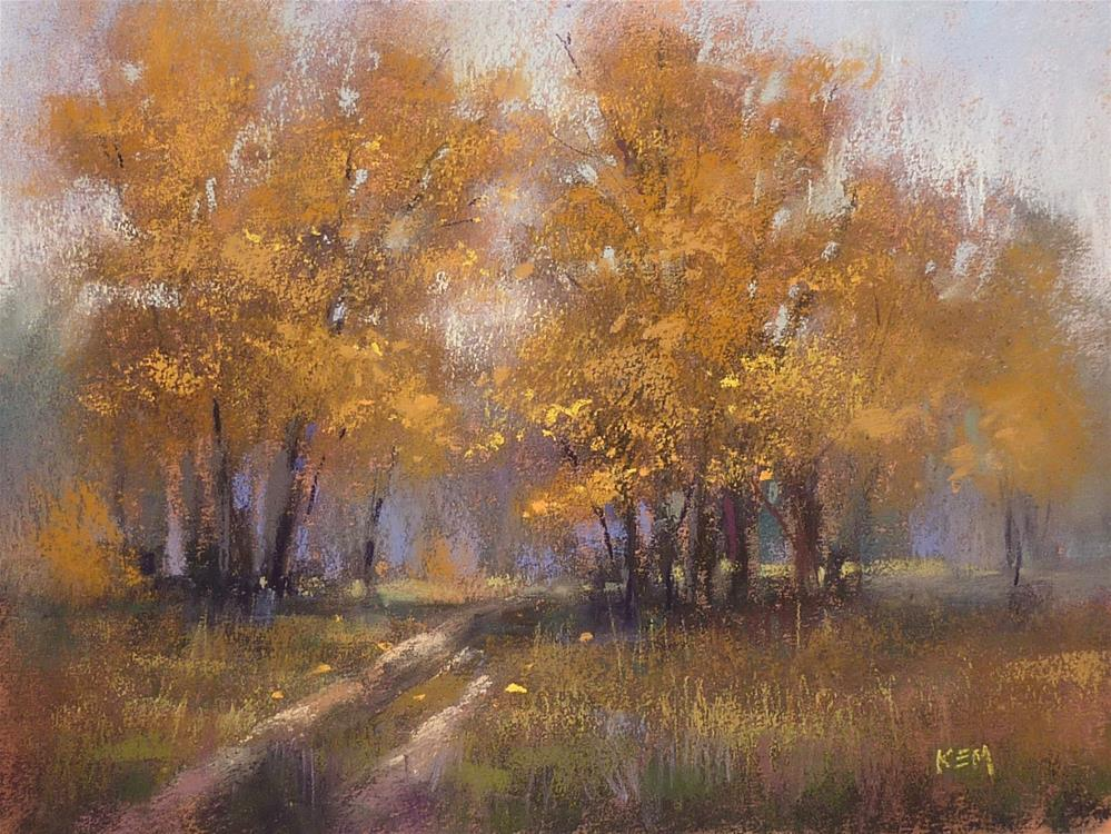 """""""New YouTube Video Demo! Tips for Painting on Canson!"""" original fine art by Karen Margulis"""
