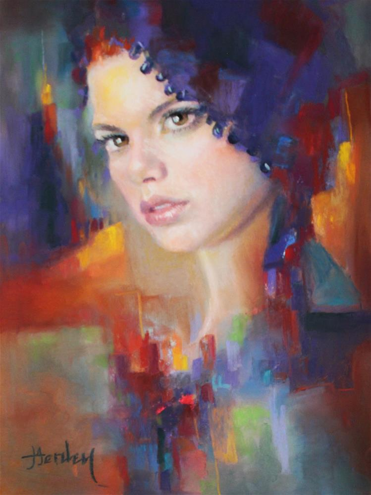 """Intensity"" original fine art by Denise Henley"