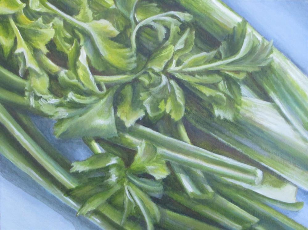 """""""Slghtly Crunchy"""" original fine art by Debbie Shirley"""
