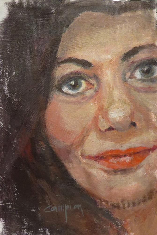 """741 More of Myself"" original fine art by Diane Campion"