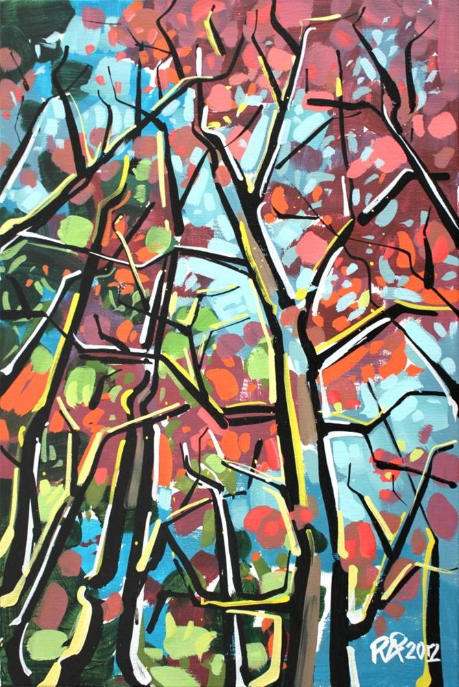 """""""Tree abstraction 1"""" original fine art by Roger Akesson"""