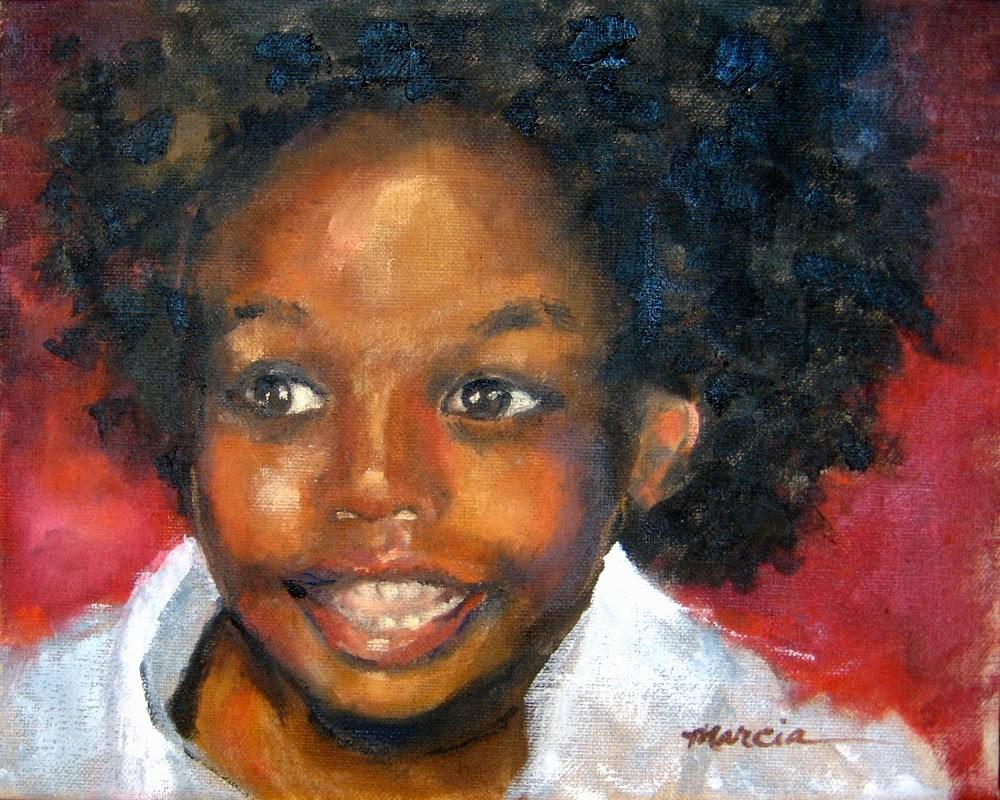 """Rowen - SOLD"" original fine art by Marcia Hodges"