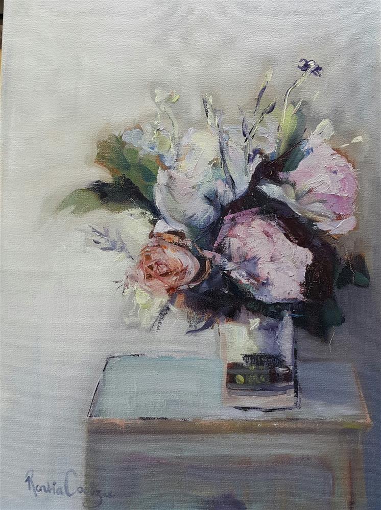 """Colour me beautiful"" original fine art by Rentia Coetzee"
