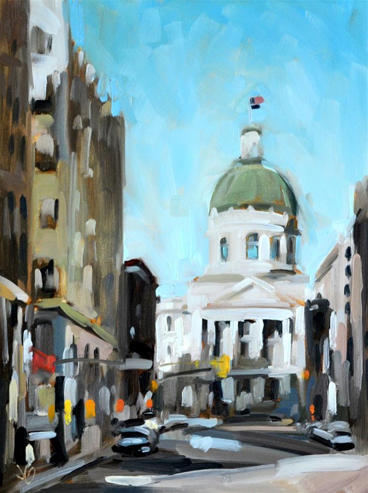 """State House"" original fine art by Jessica Green"