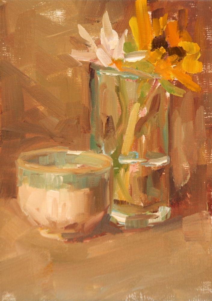 """mellow"" original fine art by Carol Carmichael"