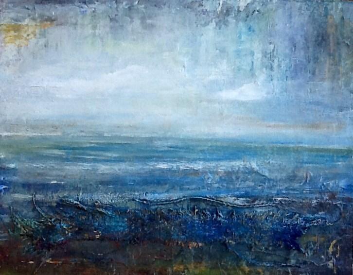 """""""Celtic Waters"""" original fine art by Maureen Bowie"""
