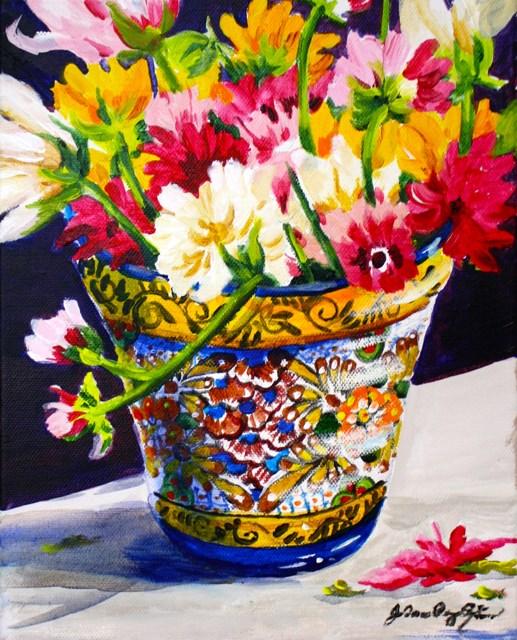 """Reaching Out"" original fine art by JoAnne Perez Robinson"
