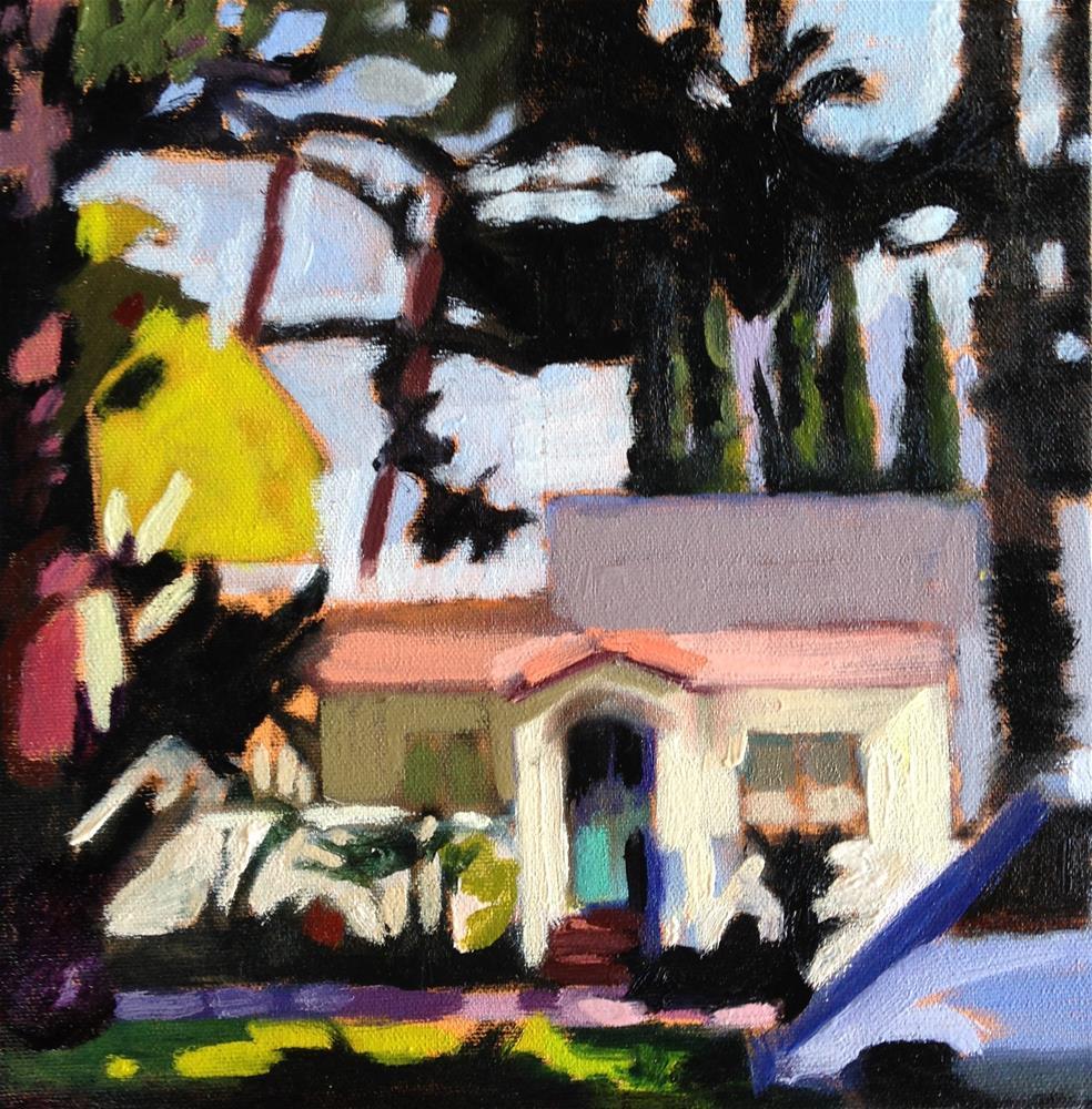 """Santa Monic Favorite"" original fine art by Pamela Hoffmeister"