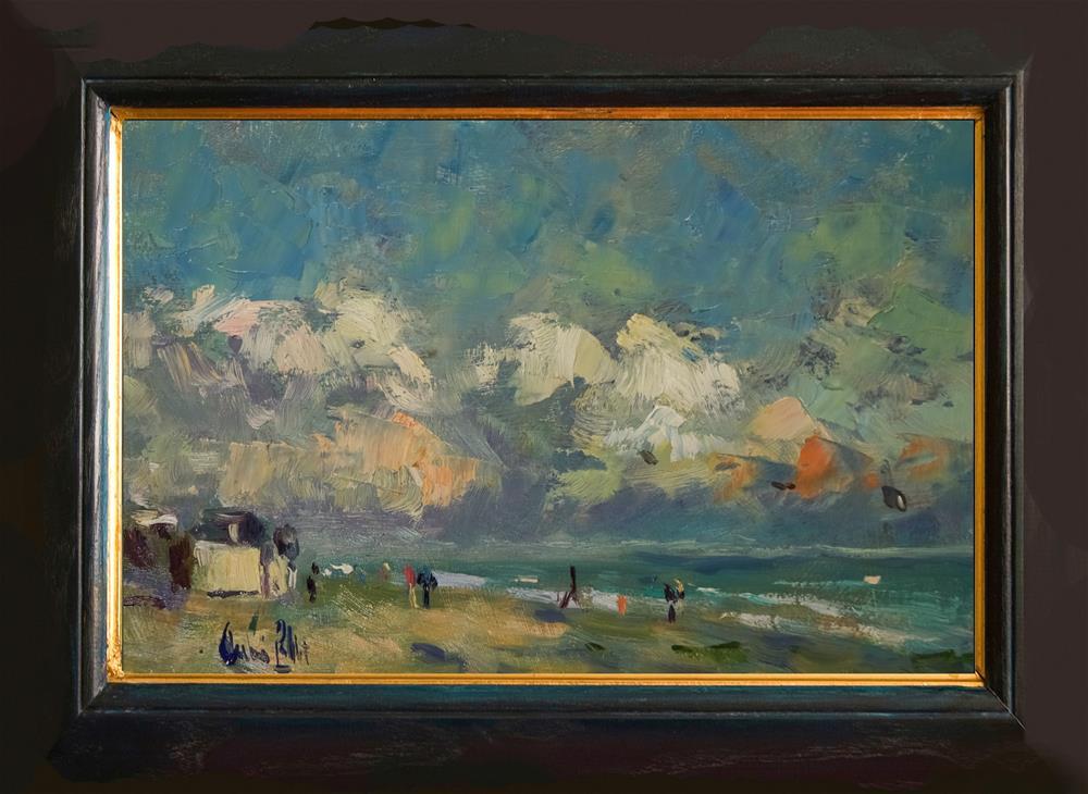"""Last of the Sun"" original fine art by Andre Pallat"