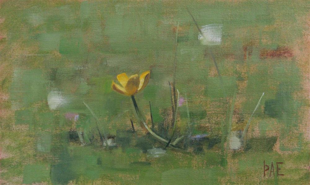 """Buttercup"" original fine art by Thorgrimur Andri Einarsson"