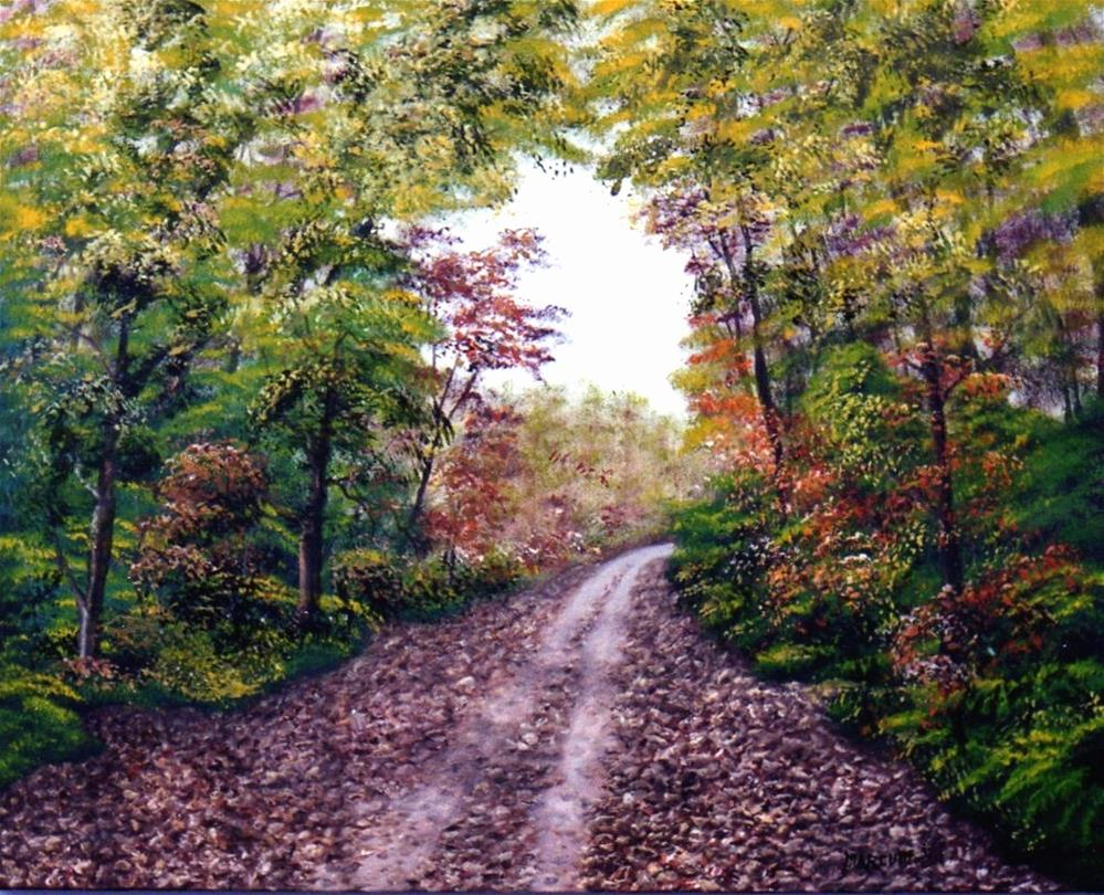 """Katy Trail"" original fine art by John Marcum"